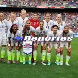 United States Soccer team against the republic of Ireland