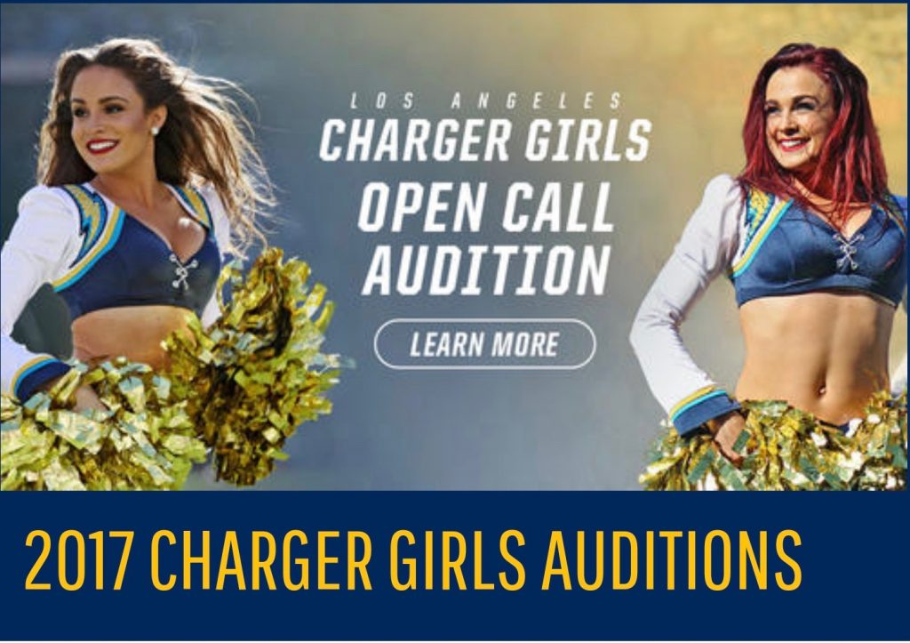 LA CHARGER GIRLS OPEN CALL AUDITION