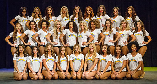 Introducing the 2017 Los Angeles Charger Girls