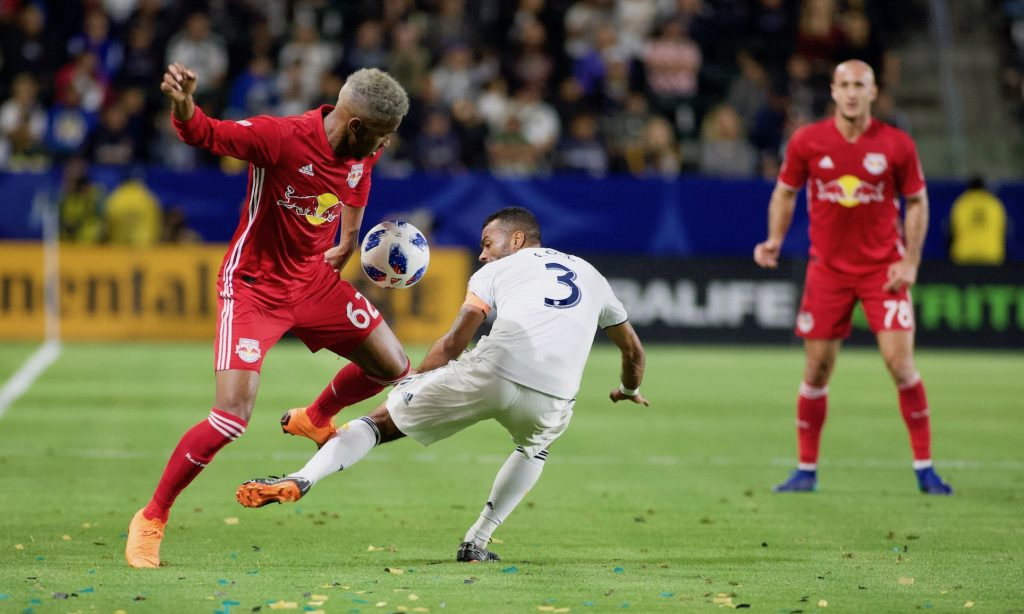 LA GALAXY CAE 3-2 ANTE NEW YORK RED BULLS ENELECTRISANTE PARTIDO