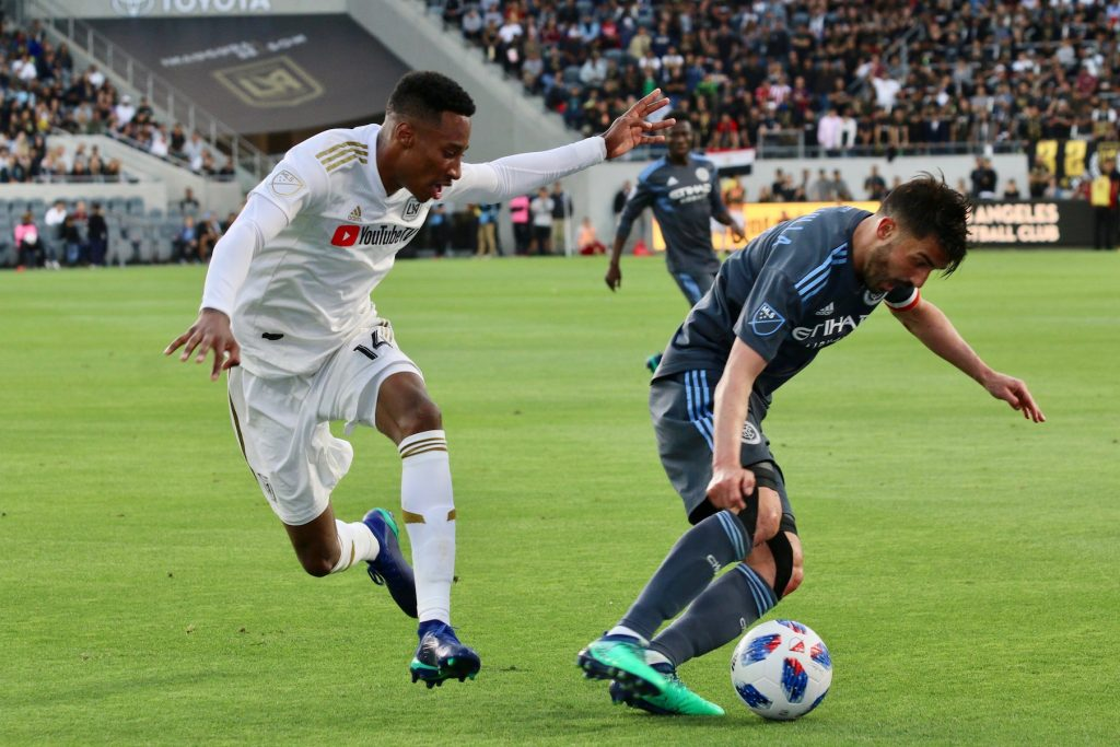 LOS ANGELES FC EMPATA  2-2  CON NEW YORK CITY