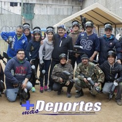 INAUGURACION DEL CAMPO DE SNIPERS PAINTBALL